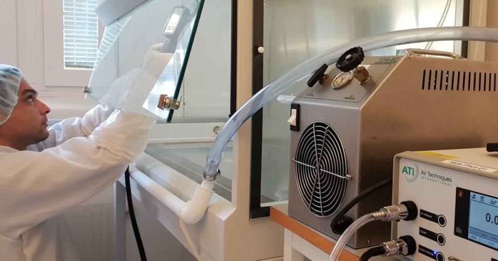 resanitec Biosafety Cabinet Control