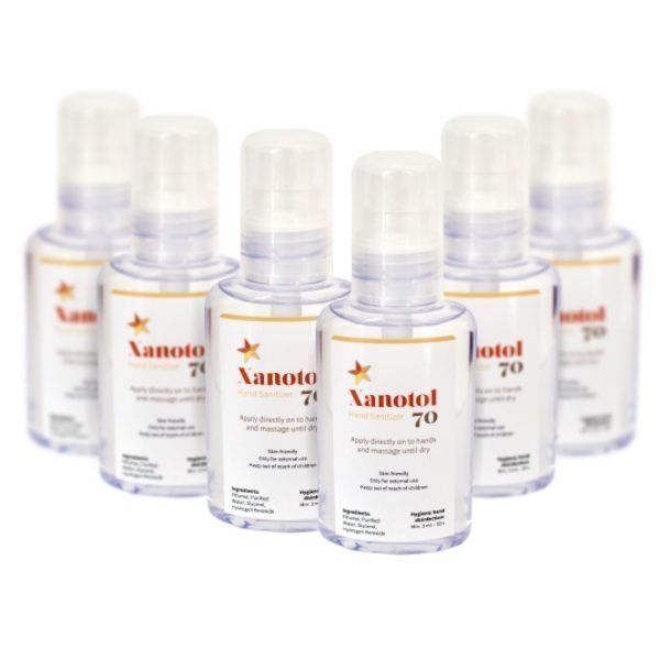 Handdesinfektion Xanotol 70 (80 ml) Spray – 6 pack